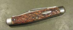 Rolf Walter Buchel Solingen Germany Bone Handle Stockman Old Vtg Pocket Knife #RolfWalterBuchel