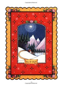 A page from the book 'Believe: A Christmas Treasury' written and illustrated by Mary Engelbreit