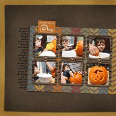 What a pumpkin! by @Trisha Burton | Thankful Fall Kit from www.peppermintcreative.com