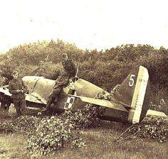 A Polish Caudron C 714 Cyclone France 1940