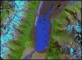 Retreat of the Tasman Glacier : Image of the Day : NASA Earth Observatory 01.27.2008