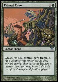 Primal Rage - Enchantment - Cards - MTG Salvation