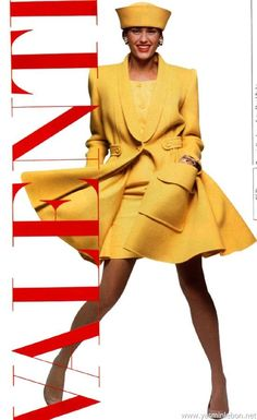 Yasmin Le Bon by David Bailey - Valentino S/S 1988 80s Fashion, Fashion Brands, High Fashion, Vintage Fashion, Fashion Outfits, Very Valentino, Valentino Couture, Valentino Garavani, Classic Outfits