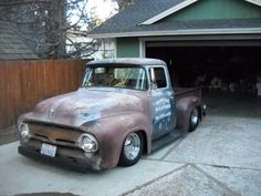 1956 Ford F100 - Bagged!