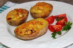 Egy finom Sült krumpli krémsajtos-hagymás töltelékkel ebédre vagy vacsorára? Sült krumpli krémsajtos-hagymás töltelékkel Receptek a Mindmegette.hu Recept gyűjteményében!