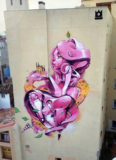 Isaac Mahow #streetart #arturbain #photostreet #artderue #arteurbano #fresque #ville #city #urbanisme #architecture #art #artist #photographie #colors #story #histoire #graffiti #urbanart #curator #collector #collection