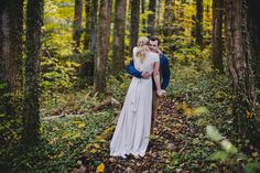 Fall mountain wedding at Black Moumtain Sanctuary