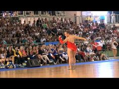 Elodie KUPKE (France) - 8th place World Championship Twirling 2012