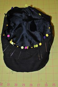 Do you remember the Driving Cap pattern I made for Travis a few weeks ago? I finished writing up the directions. Bead Embroidery Tutorial, Beaded Embroidery, Hat Patterns To Sew, Sewing Patterns, Baby Sling Wrap, Button Crafts, Crafts To Make, Make It Simple, Kids Fashion