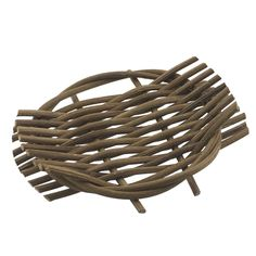 Handcrafted Wicker Soap Dish. Lets soaps completely dry, great for handcrafted soap.