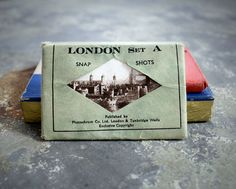 London Photochrom Snapshots Set of 12 $12 #decoration