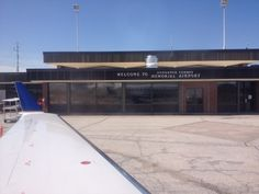 Houghton County Memorial Airport (CMX) paikassa Calumet, MI