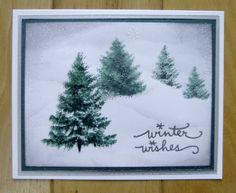 Winter Wishes by stiz2003 - Cards and Paper Crafts at Splitcoaststampers