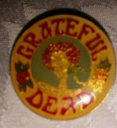 VINTAGE GRATEFUL DEAD PIN Awesome PIN Please RePinit, ReTweet and Share on Facebook. Thanks