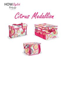 Citrus Medallion -- Spring 2015 Thirty-One.  Created by HOWStylish, independent consultant.