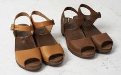 Rakuten: ■Two colors of MOHEDA TOFFELN [モヘダ トフェール] leather sabot sandals 1085- Shopping Japanese products from Japan