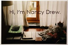 Hipster Nancy Drew Quotes Looks almost like the real--well, digital--desk! Nancy Drew Costume, Nancy Drew Party, Nancy Drew Games, Nancy Drew Books, Best Mysteries, Cozy Mysteries, Her Interactive, Hipster Edits, Funny Animal Quotes