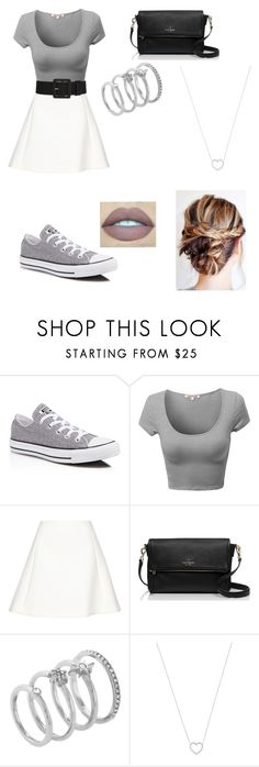 """""""Outfit 07"""" by taylor-ross115 on Polyvore featuring Converse, Neil Barrett, Kate Spade, Vince Camuto and Tiffany & Co."""