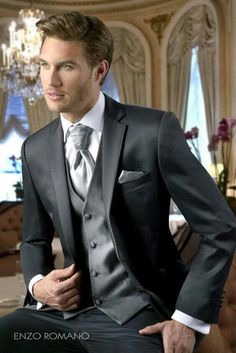 b7c38fdc0b4 Reception 1 (Bride) - Idea 2 - Groom - Western - Black Grey Shiny Suit  (backup) (Reception 1   2 - colours must be different)