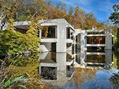 milton klein architect / robin roberts' twin ponds residence, bedford hills