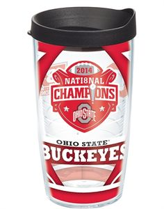 2014 College Football National Champions - Ohio State Buckeyes Tervis Tumbler