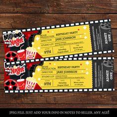 Movie Ticket Template Free Download Vintage Cinema Tickets Set Vector  Free Download  Wedding .