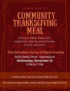 Salvation Army Dane County Tsadanecounty Profile Pinterest