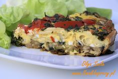 Frittata przepis Olga Smile Impreza, Frittata, Pizza, Smile, Breakfast, Food, Hoods, Meals, Omelet