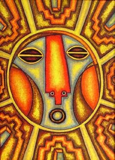 Son pinturas del excelente Mamani Mamani de Bolivia. lunas - Buscar con Google Bolivia, Sun Art, Psychedelic Art, Folk, Mandala, Creatures, Sky, Peru, Wallpapers