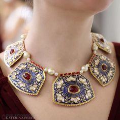КАТЕРИНА ПЕРЕЗ(@katerina_perez):「 I had a pleasure of viewing @sunita_shekhawat_jaipur jewellery in London yesterday for the first… 」