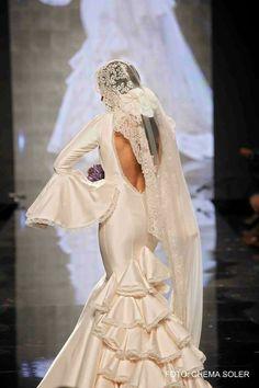 Vestido de novia Aurora Gaviño