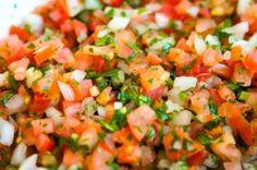 Simple and tasty recipe for Pico De Gallo
