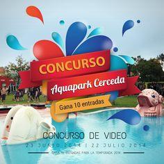 Concurso de vídeo Aquapark Cerceda. Participa y gana 10 entradas para la temporada verano 2014!!
