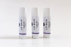 Lavender Mint Lip Balm // 100% natural, herbal-infused lip balm. leaves your lips soft and tingly! | wholeapothecary.com