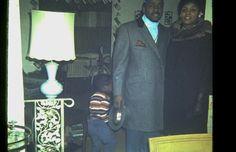 My uncle Junie & Aunt Winnie. X-mas 1969.