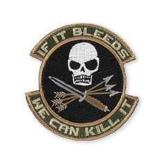 $9.00 If It Bleeds Morale Patch