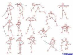 Body positions; How to Draw Manga/Anime