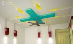 The Five Elements of a Perfect In-Ceiling Screen Installation - False Ceiling Ideas - Living Room Fans, False Ceiling Living Room, Bedroom Ceiling, Bedroom Decor, Design Bedroom, Kids Bedroom, Pop Ceiling Design, Wall Fans, Carpet Flooring
