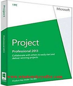 Project professional 2013 retail versions with the download link and a genuine license key ,only $39.99