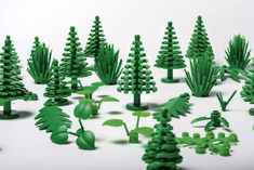 Lego is set to launch a range of botanical elements made from a plant-based plastic sourced from sugar cane, in a bid to reduce its plastic waste.