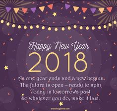 awesome new year 2018 wishes quotes