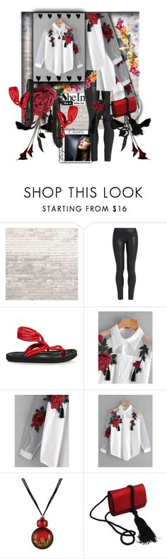 """""""SHEIN - Win $30 coupon"""" by silviaracchi ❤ liked on Polyvore featuring WALL, The Row, Isabel Marant and Salvatore Ferragamo"""