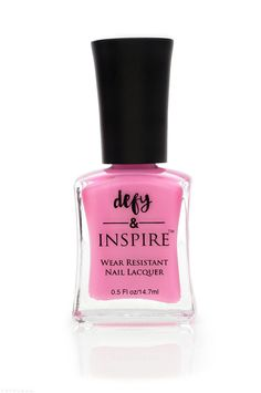Defy and Inspire Nail Lacquer in Tell All ($7)