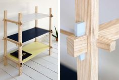 No-Glue, No-Screw Kile Furniture by Yukari Hotta