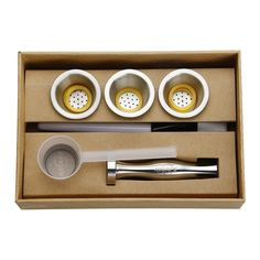 Stainless Steel Refillable Capsules for Nespresso Machines Cubes, Nespresso Machine, Stainless Steel Case, Coffee Cups, Cleaning, This Or That Questions, The Originals, Mornings, Flexibility