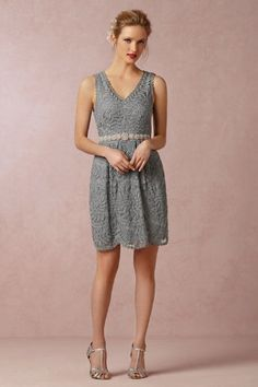 Silver or Gray Bridesmaid Dresses | Dress for the Wedding