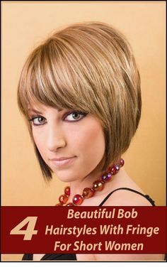 How do you style kind of bob hairstyles correctly? Easiest ways of doing Bob hairstyles you need to part The hair slightly off to The side and then brush it totally through. The next step is to comb all bangs forward. There are other Bob hairstyle you may try for a change look.