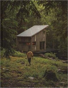 I love this book!!! Cabin Porn: Inspiration for Your Quiet Place Somewhere: Zach Klein, Steven Leckart, Noah Kalina: 9780316378215: Amazon.com: Books