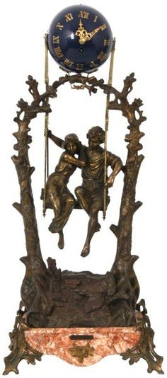 Little too antique ansonia swinger antique clocks blowjob legend