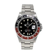 Vintage Rolex GMT II Master Black and Red -  http://www.h1912.com/watches - Shop Preowned Rolex  – Antique Watch Store  - Rare and Unique Vintage Watches  All Preowned Rolex Watches come with a Certificate of Quality & Authenticity as well as Warranty.   Shop Unique, Preowned and Vintage Rolex Watches - Vintage luxury Jewelry, Antique Rolex, Vintage Luxury Watches, Antique Chronograph Watches, Antique Watch Store -